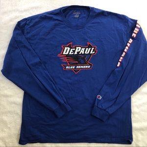 DePaul Blue Demons Champion Long Sleeve
